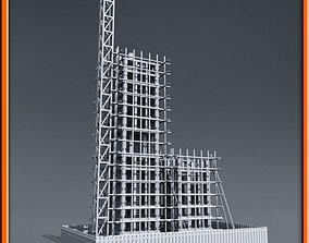 scaffolding 3D Building Construction