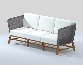3D Avila Outdoor Lounge Sofa