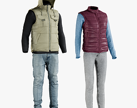 3D Mens and Womens Clothing Collection 4