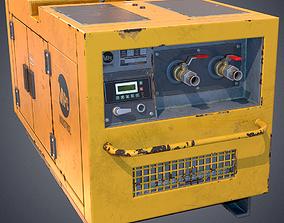 3D asset Air compressor
