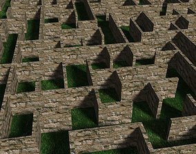 models 3d maze for your game project