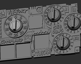 3D print model Brutal Space Orc Game and Score Tracker for