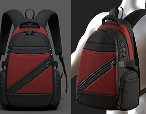 Backpack Camping Generic military 3D asset