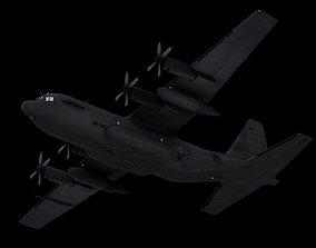 C-130 Hercules -Aircraft - C4d-Fbx-Maya-Obj 3D