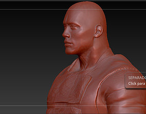 3D print model dwayne Johnson - Luke hobes this is 4