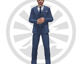 Chris Evans - MF1 3D asset