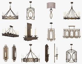 Fine Art Lamps Cienfuegos 3D