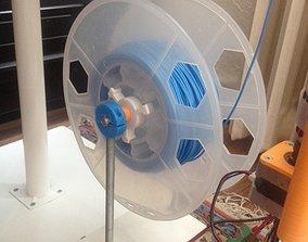 3D filament spool centering element