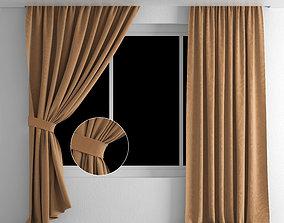 curtain window furniture 3D model