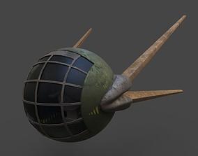 3D asset Sputnik 2020