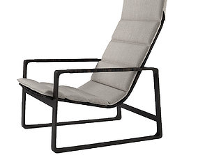 Holly Hunt Heron Lounge Chair 3D