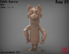 Max The Wolf 3D print model