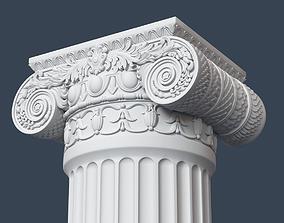 3D model Ionic Column 005