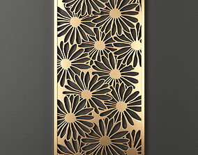 3D model Decorative panel 80