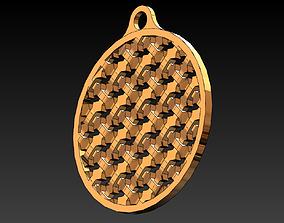 Moucharabieh pendants 3D print model