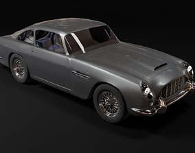 Aston Martin DB5 3d model coupe