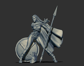 3D printable model Spartan woman 35mm scale - Leda