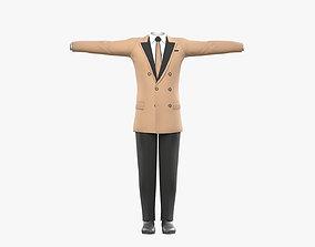 3D asset Business Suit for Men v3