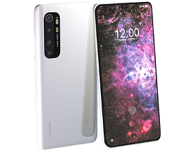 3D Xiaomi Mi Note 10 Lite Glacier White