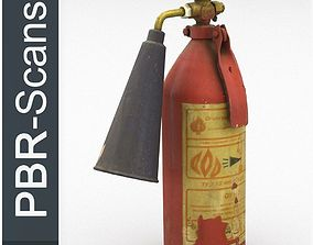 Fire extinguisher2 low poly 3D model game-ready