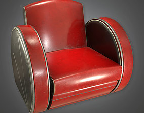 3D model DKO - Chair Art Deco Small - PBR Game Ready