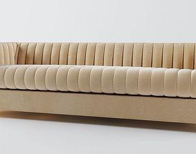 3D Bright - Gray Sofa