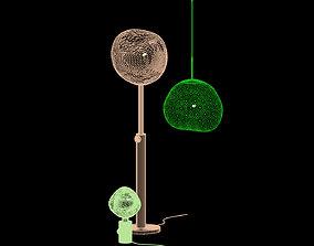 TOM DIXON MELT collection set of 3 STL-3D
