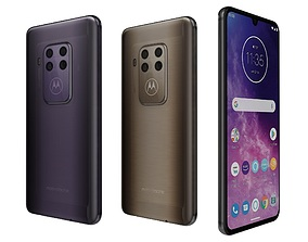 3D Motorola One Zoom All Colors