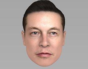 Elon Musk 3D model