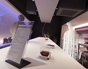 Modern Bar Scene 3D model