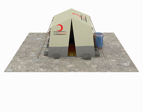 SyrianTentCityPart01 3D model
