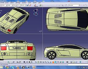 lamborghini gallardo design 3D model