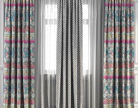 Curtain Set 92 3D model