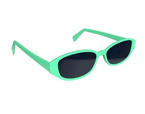 3D model Modern sun glasses