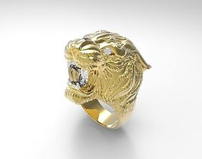 lion carrera ring 3D print model