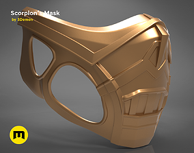 Scorpion Mask 3D print model