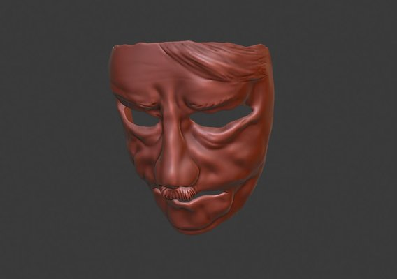 Face mask for psycho testing