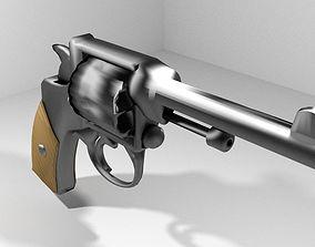 3D Revolver - Handgun Type 1