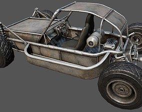 3D asset Buggy PBR