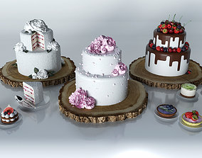 Cakes and desserts 3D