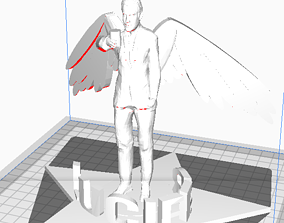 Lucifer Morningstar 3D print model