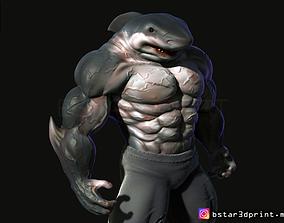 Shark Man 3d print