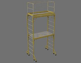 3D model low-poly Scaffold 1C