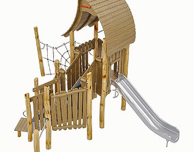 Playground Equipment 064 3D model