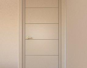 hallway interior door 3D model