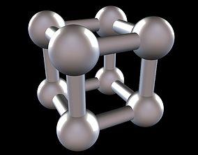 3D print model 003 Mathart - Platonic Solids - Cube 03 - 1