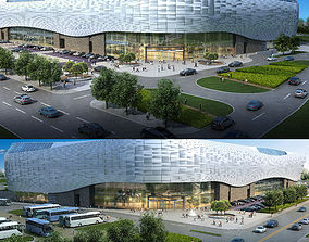 shopping 3D model City Shopping Mall