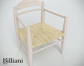 3D Billiani Vincent VG lounge chair rope