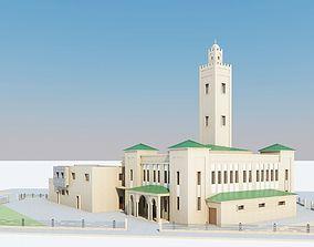 3D model Moroccan Mosque