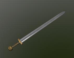 3D asset Sword of Ancient Russia
